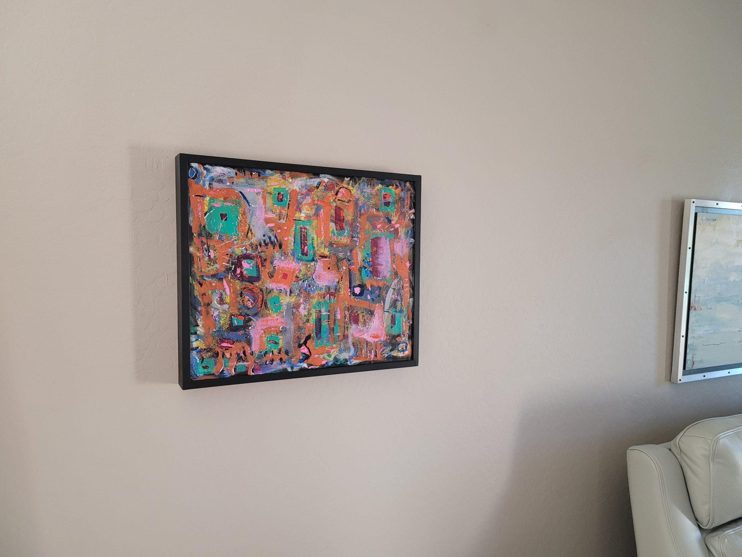 New Painting and Frame
