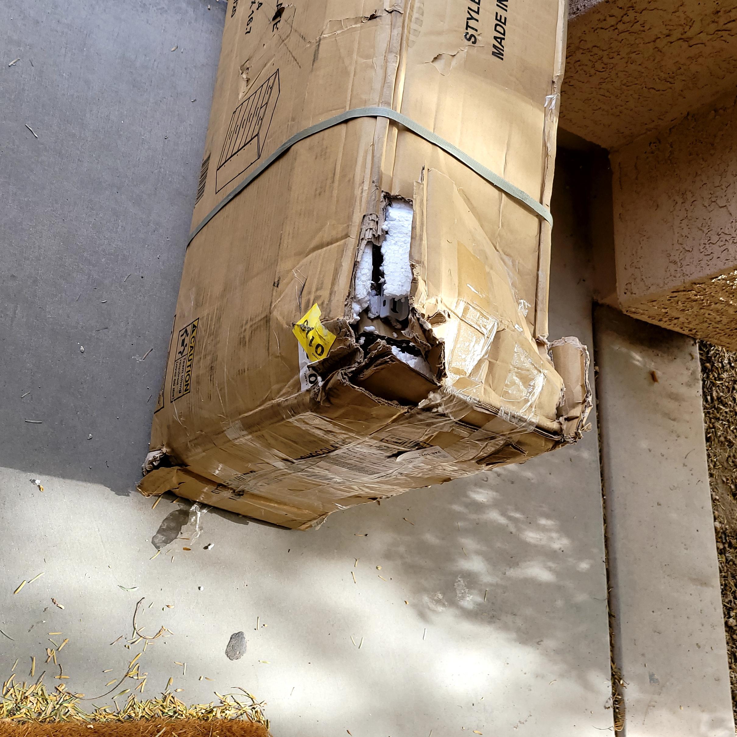 Damaged Dresser