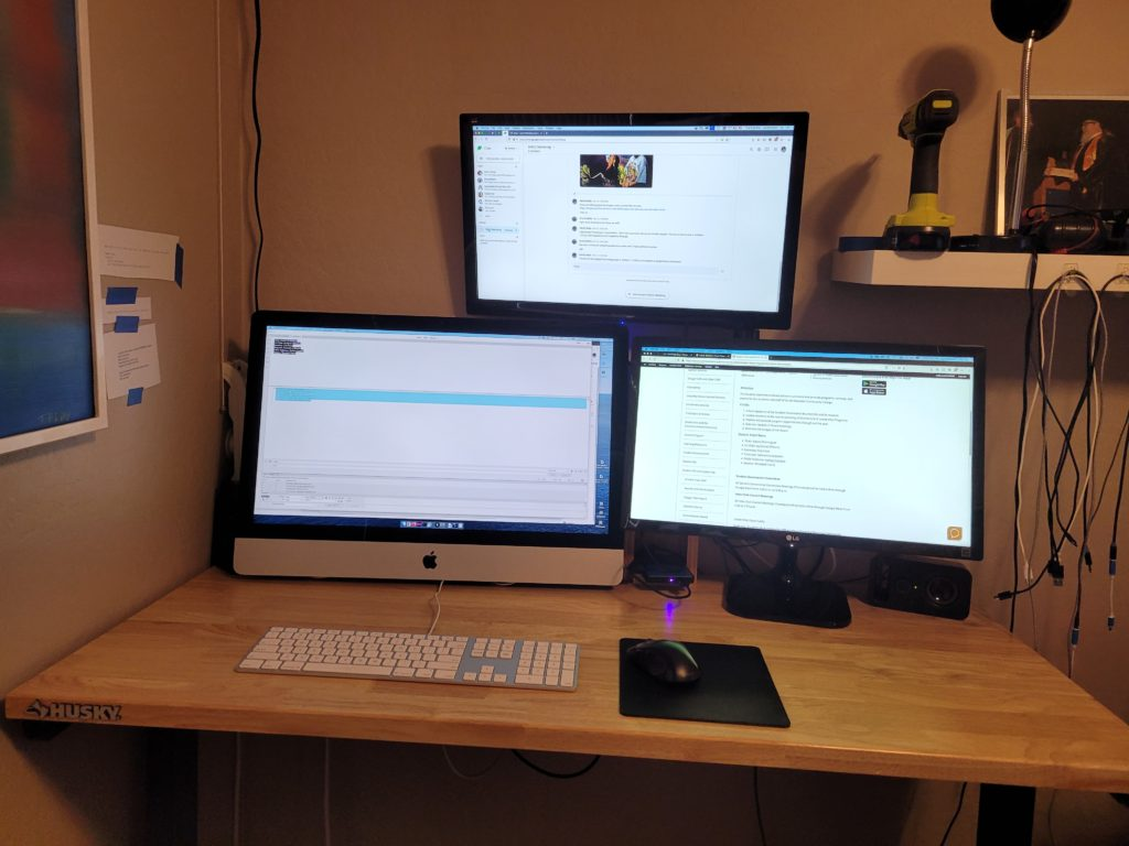 New Desktop Configuration
